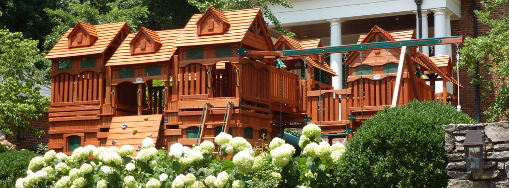 specialty series u2013 cedar swingsets and playsets