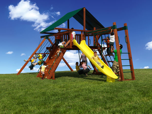 Swingsets and Playsets by Backyard Adventures of Middle Tennessee