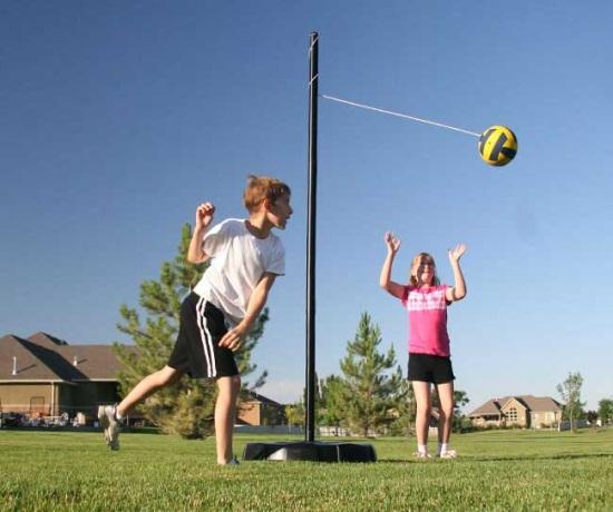 Portable Tetherball Set Swingsets And Playsets Nashville Tn