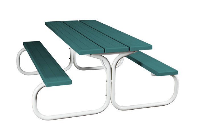 Swingsets And Playsets Nashville TN Ft Commercial Picnic Table - Teal picnic table