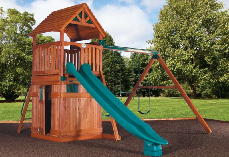 Olympian Treehouse Playhouse 1 Swingsets And Playsets