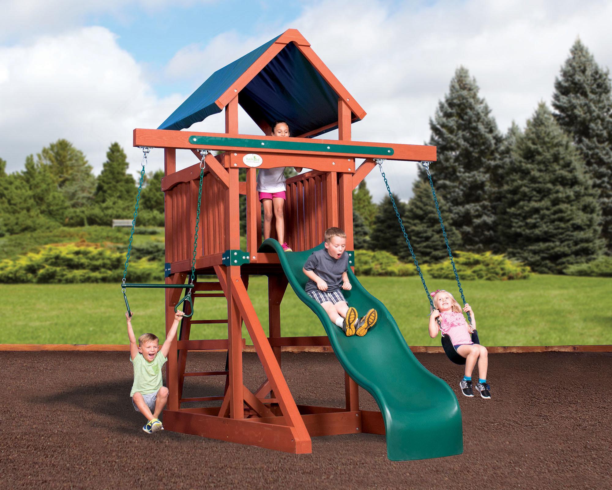 Swingsets And Playsets Nashville Tn Adventure Treehouse Junior