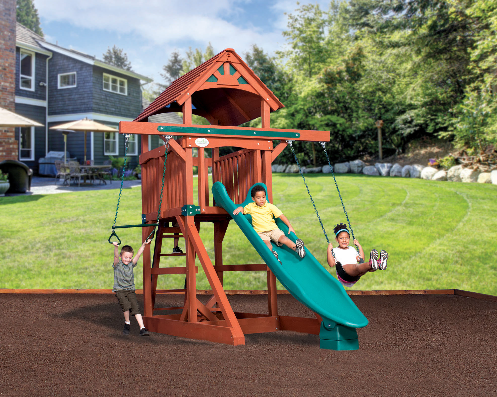 Swingsets And Playsets Nashville Tn Adventure Treehouse