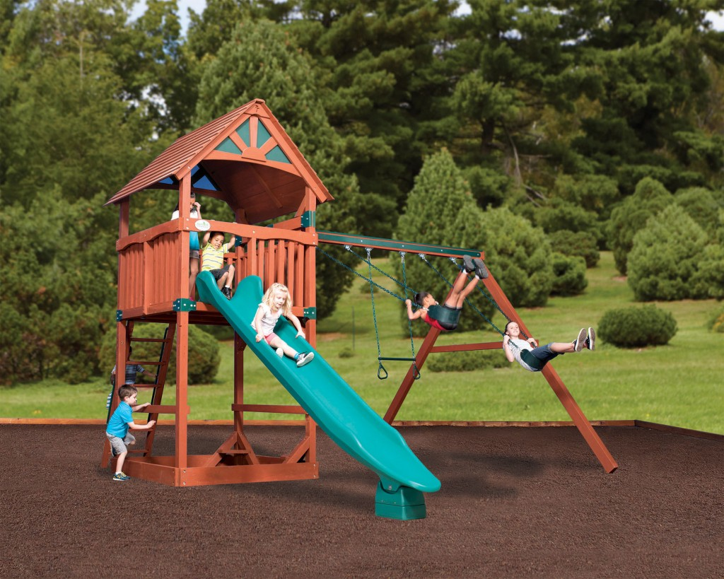 Swingsets And Playsets Nashville Tn Olympian Treehouse
