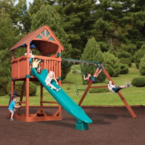 Specialty Series Cedar Swingsets And Playsets
