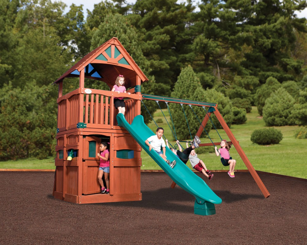 Swingsets And Playsets Nashville Tn Olympian Treehouse