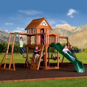 Adventure Cabin Jr Swing Set