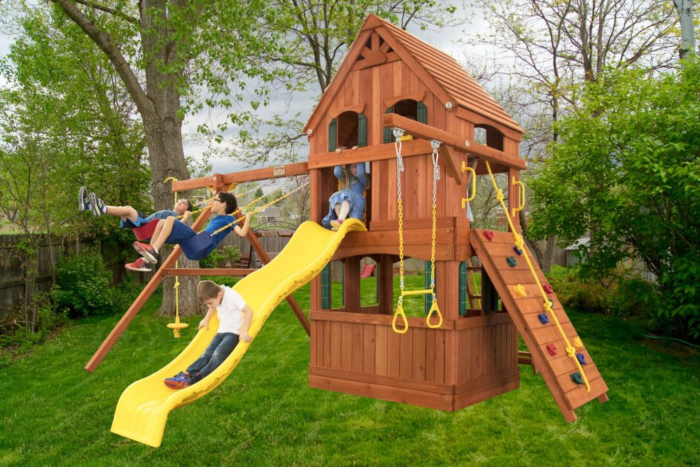 Swingsets And Playsets Nashville Tn Parrot Island Fort