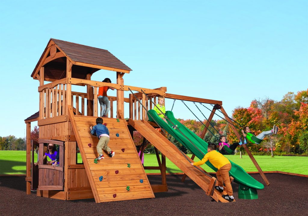Swingsets And Playsets Nashville Tn Olympian Outlook Xl 2